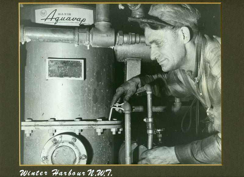 Gus Winter Harbor N.W.T. 1961