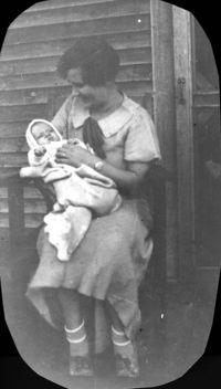Mom & baby Ronnie 2